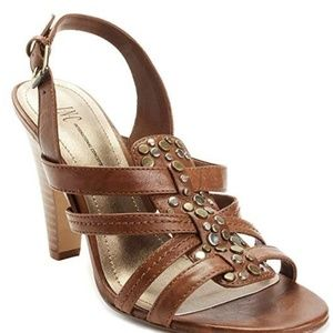 I.N.C. Selima Brown Heel-NEW